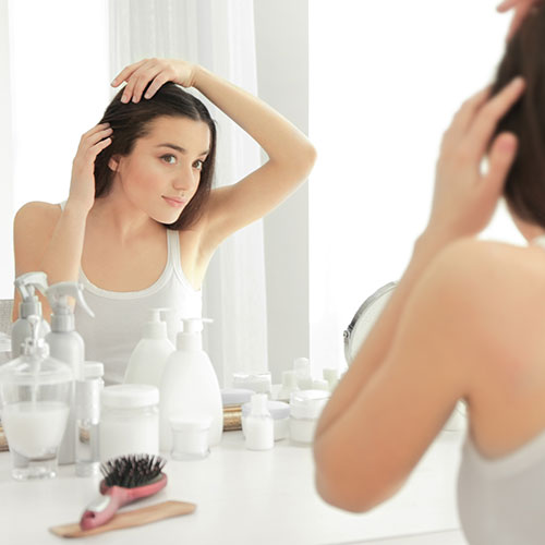 problems of hair loss