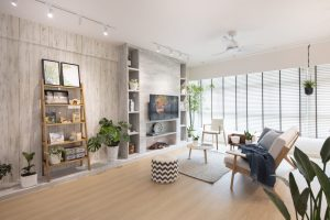 modern industrial home interior design Singapore